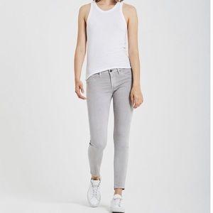 AG The Legging Ankle Super Skinny Gray Pant